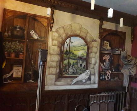 Harry Potter Mural