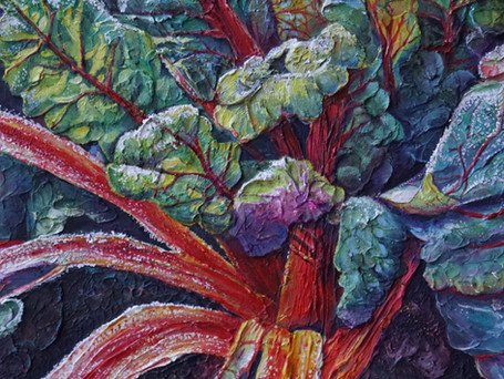 Ruby Chard Frost - Exhibited by King House Gallery, Stratford upon Avon 2021