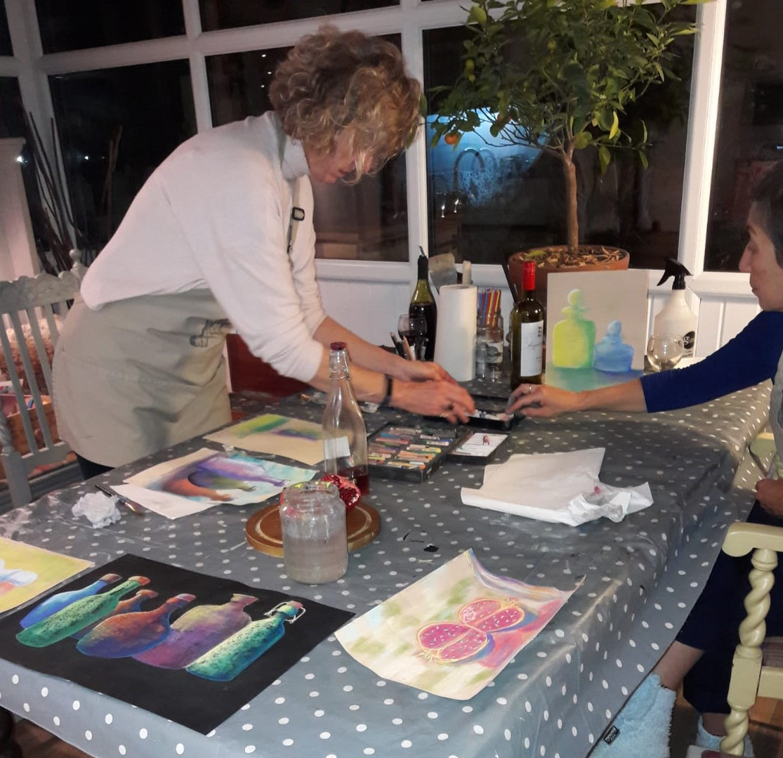 Sip and Paint Evening
