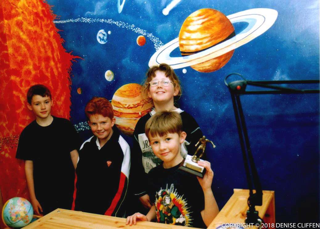 Solar System Mural