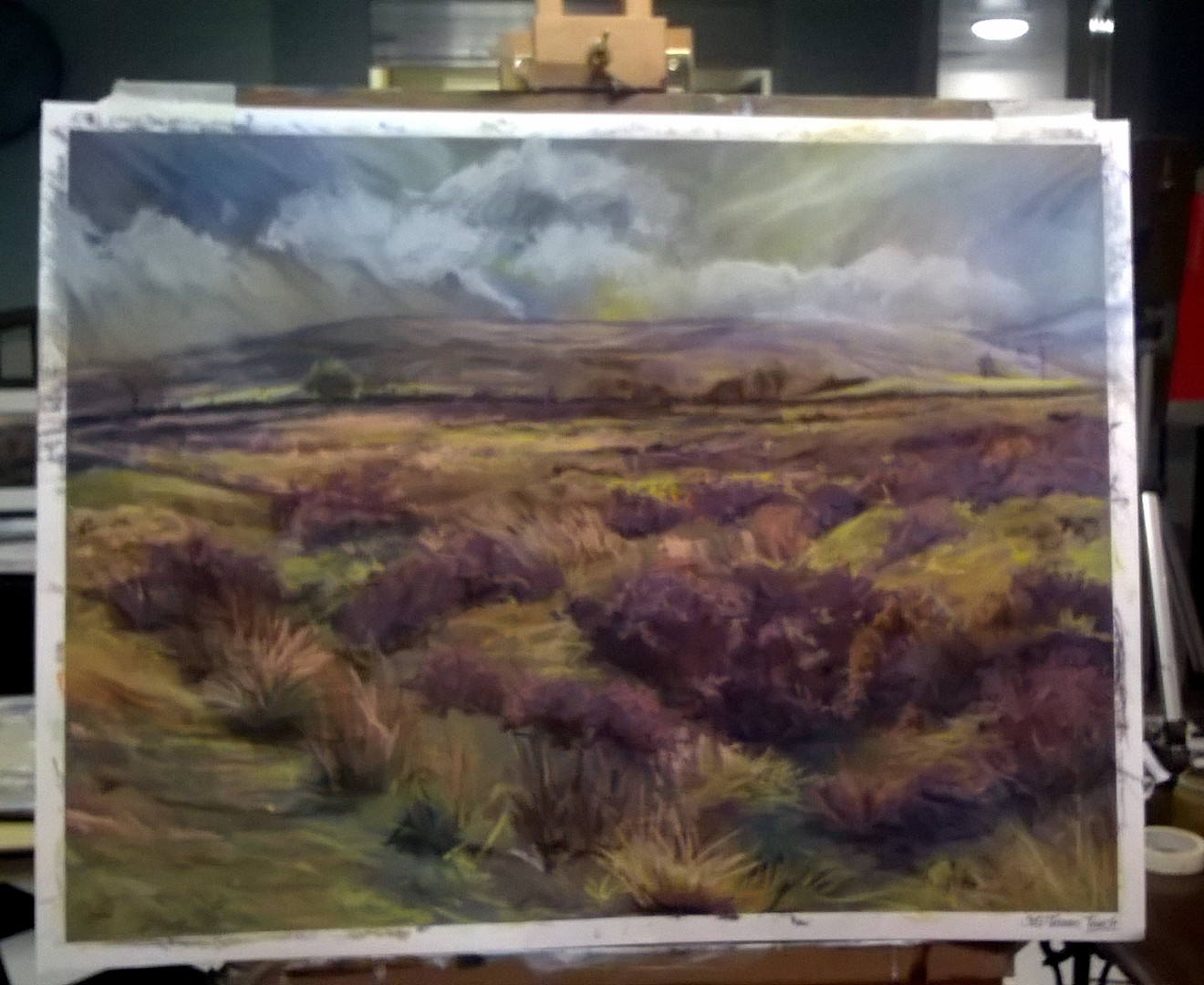 Yorkshire Moors - Soft Pastels ©Denise Cliffen