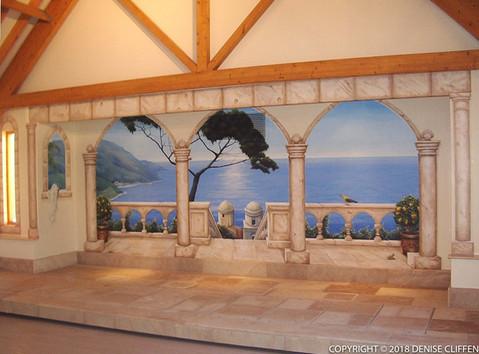 Swimming Pool Mural View 3