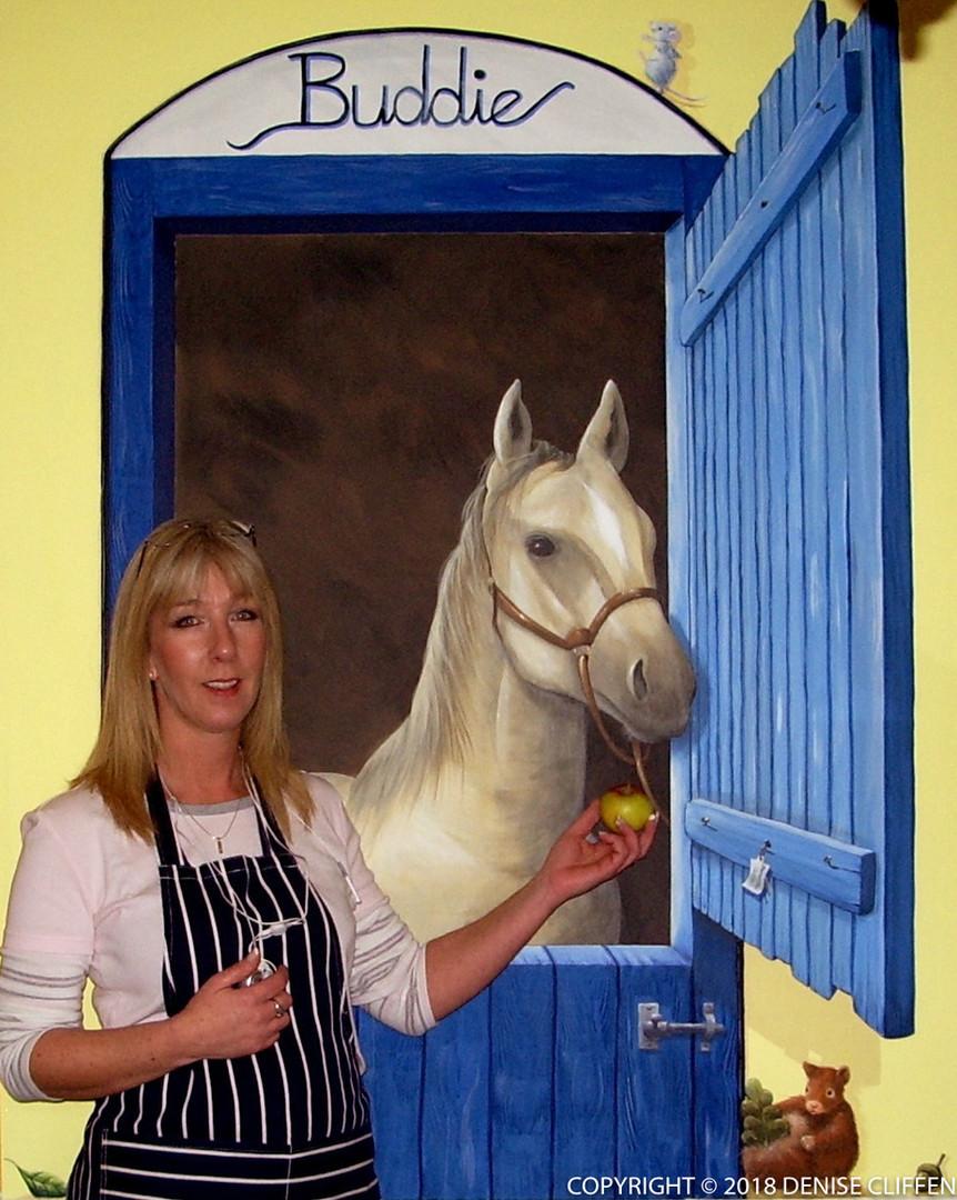 Buddie the Horse for Buddies Creche