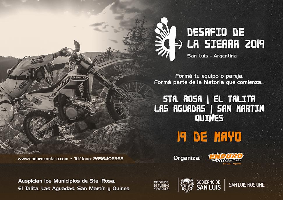Desafio de la Sierra 2019. Enduro