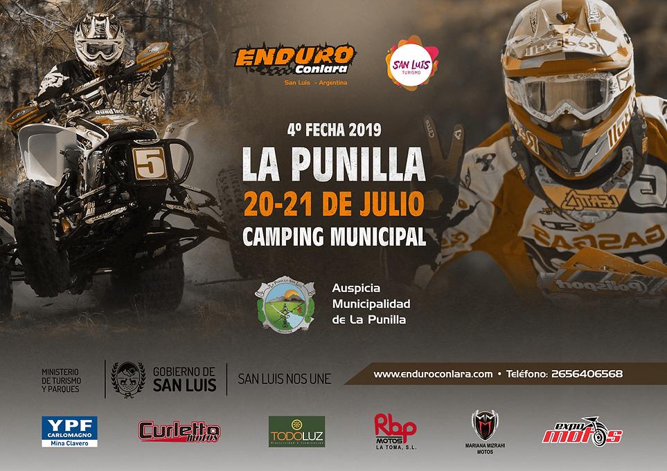 4° Fecha 2019   20 y 21 de julio   La Punilla
