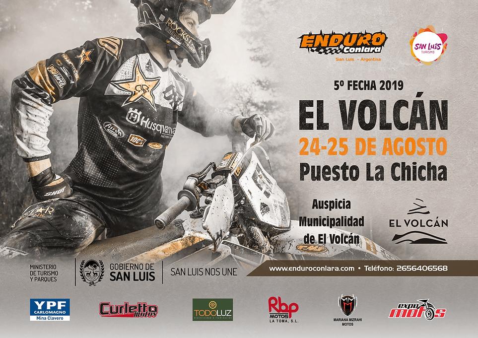 5° Fecha 2019 | 24 y 25 de agosto | El Volcán