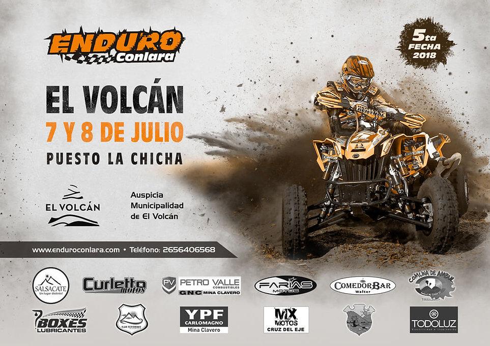 5º Fecha 2018 | 7 y 8 de julio | El Volcan
