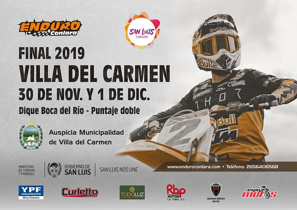 Final 2019 (9.ª Fecha) | 30 de nov. y 1 de dic. | Villa del Carmen