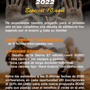 Enduro Conlara 2022. ¡Especial 10 años!