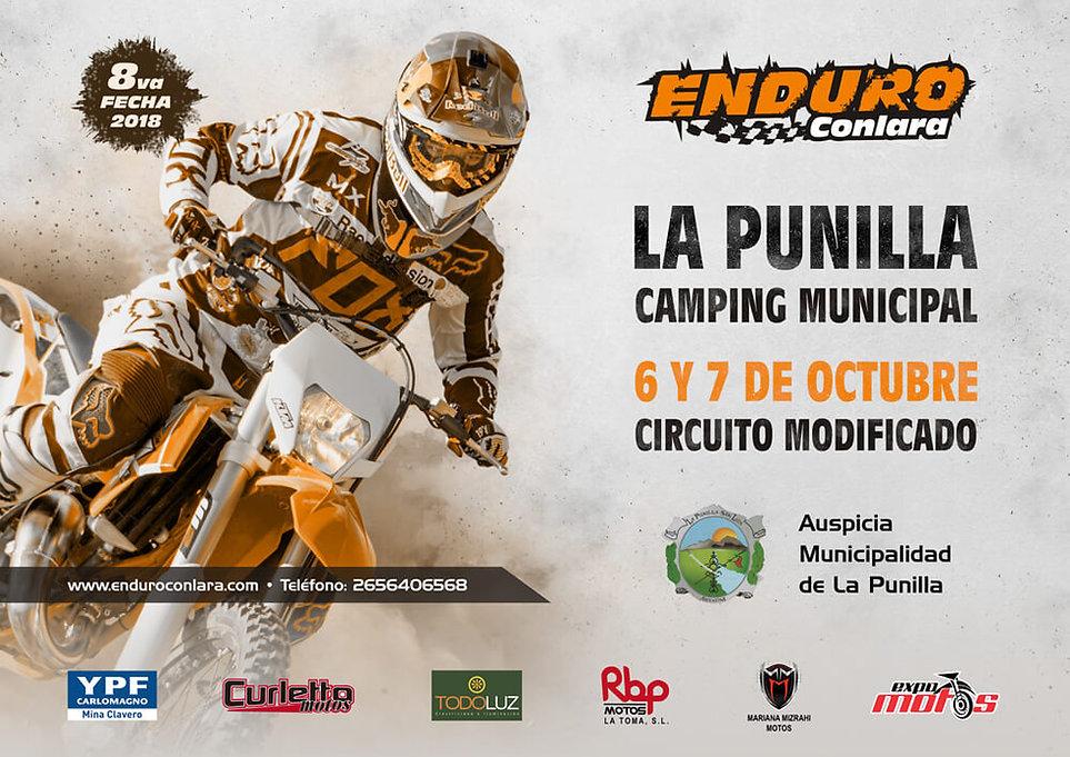 8º Fecha 2018 | 6 y 7 de octubre | La Punilla