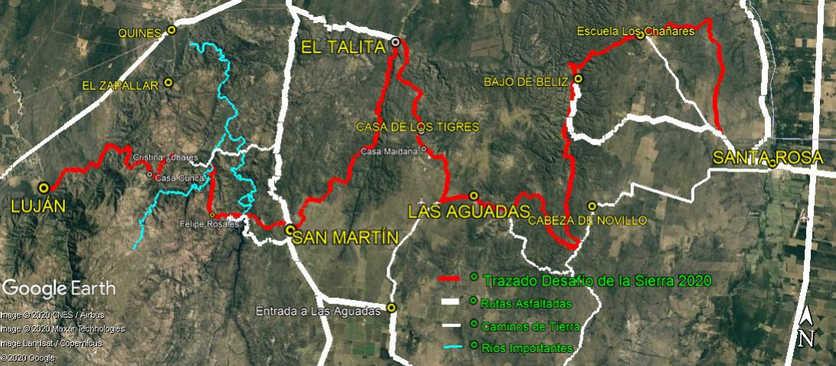 Croquis Desafío de la Sierra 2020 - 2