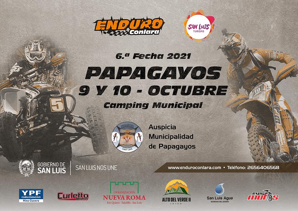 6.ª Fecha 2021 - 9 y 10 de octubre - Papagayos