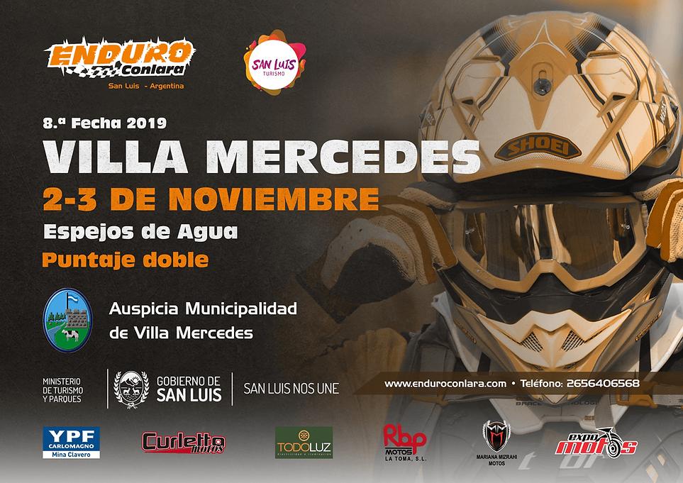 8.ª Fecha 2019   2 y 3 de noviembre   Villa Mercedes