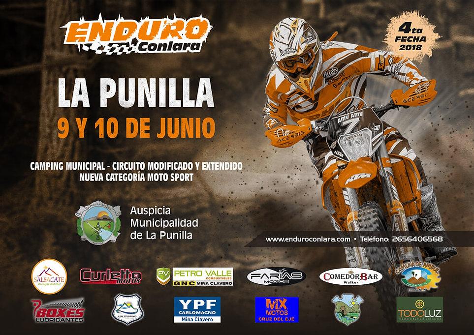 4º Fecha 2018   9 y 10 de junio   La Punilla