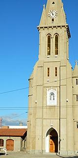 Iglesia. El Patio Olmos Alojamiento. Santa Rosa del Conlara, San Luis, Argentina.