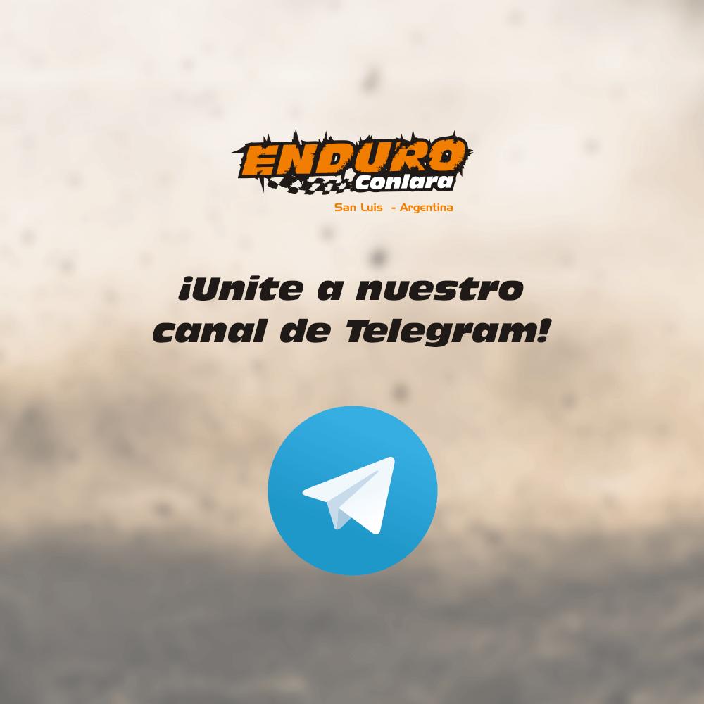 Canal Telegram Enduro Conlara