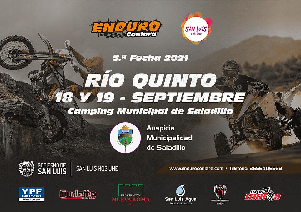 5.ª Fecha 2021 - 18 y 19 de septimebre - Río Quinto