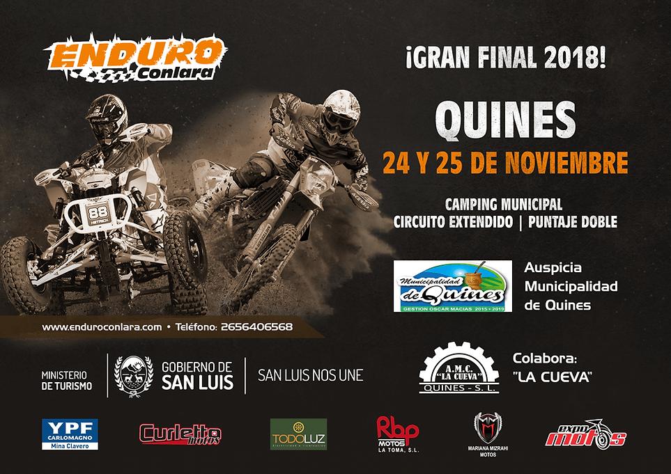10º Fecha 2018 (Final 2018) | 24 y 25 de noviembre | Quines
