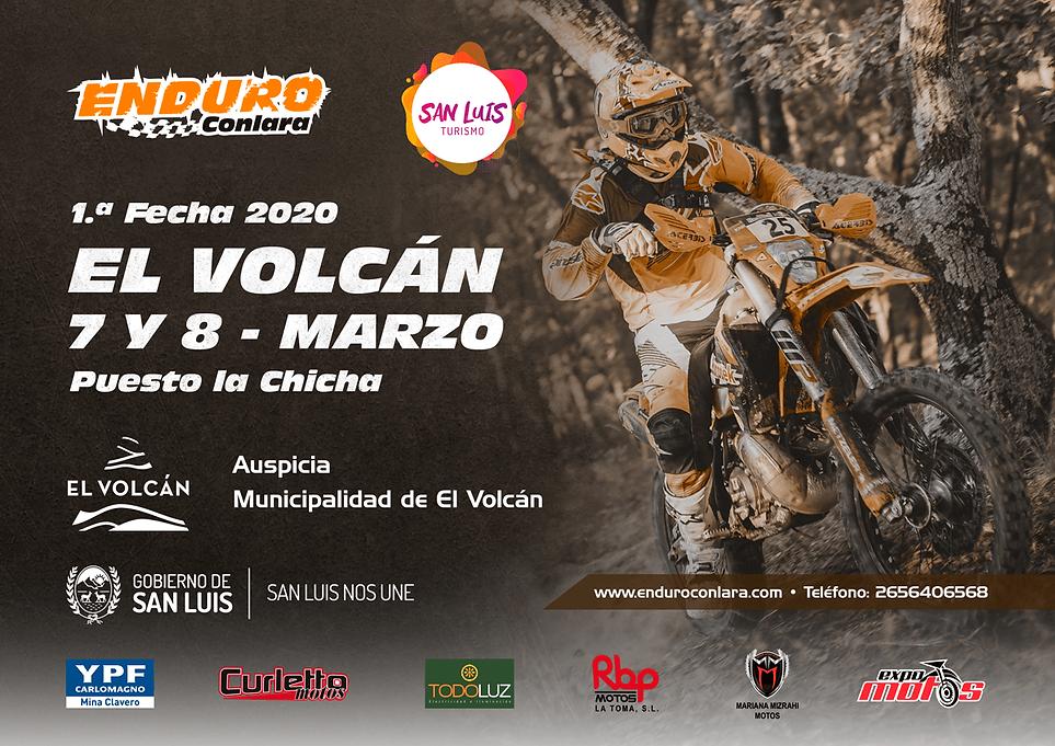 1.ª Fecha 2020   7 y 8 de marzo   El Volcán
