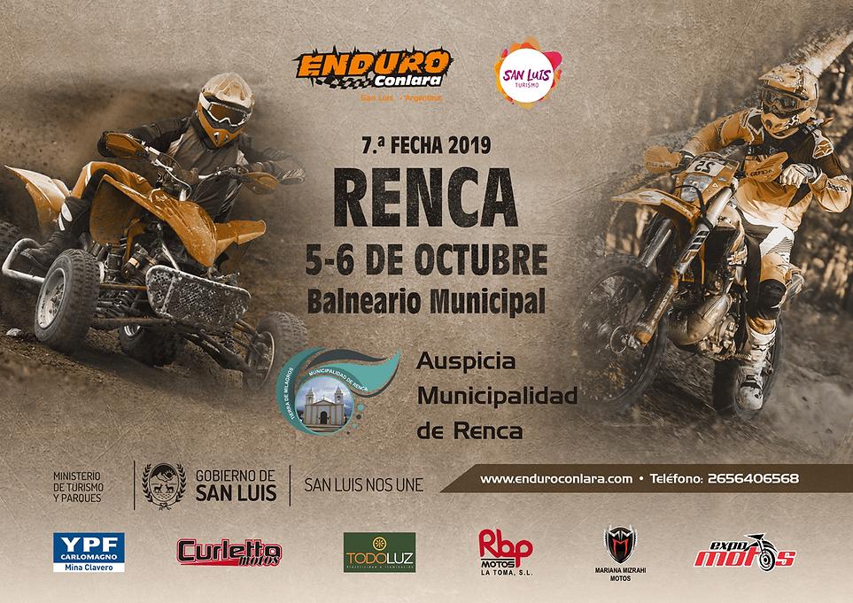 7.ª Fecha 2019 | 5 y 6 de octubre | Renca