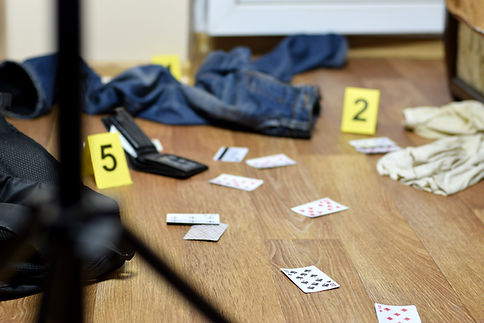 crime-scene-investigation-numbering-of-e