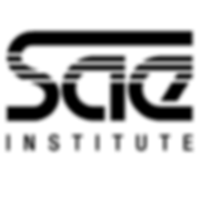 Large SAE Institute logo in black.