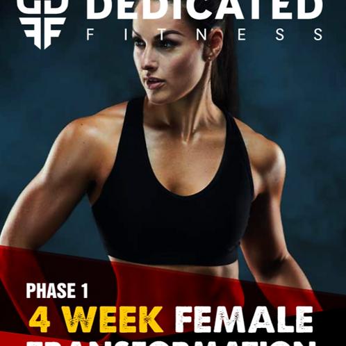 4 Week Ladies Body Transformation