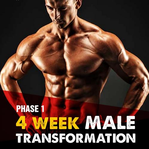 4 Week Male Body Transformation