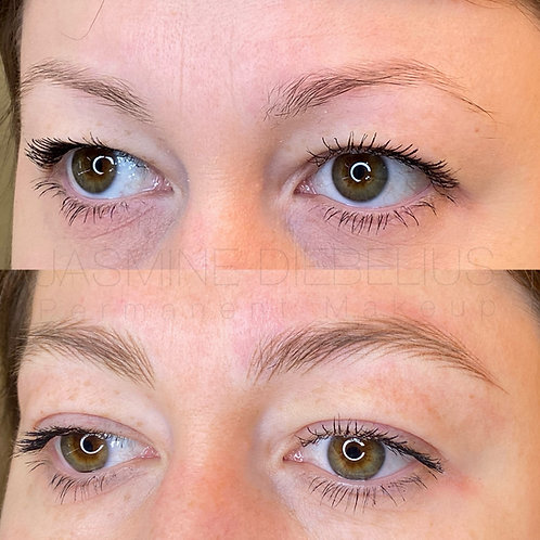 Textured Hairstroke Brows