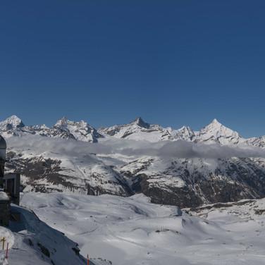 Alpenpanorama vom Gornergrat; RS-Fotografie