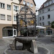 Hans im Glück Brunnen; RS Fotografie