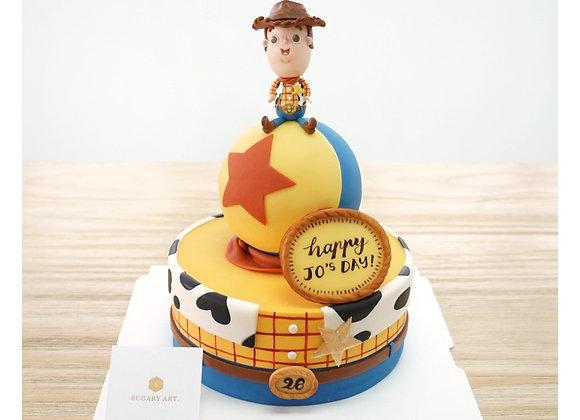 Fondant Cake - Medium