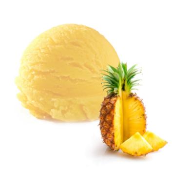 סורבה פירות אננס טבעי פרווה - 0% שומן - הרב לנדא
