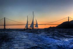 Sails after Dark
