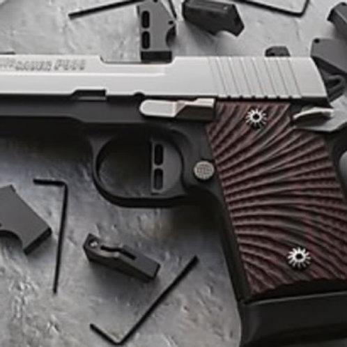 SIG Sauer P238 / P938, Colt Mustang, Kimber Micro 9 - Flat trigger - Skeleton