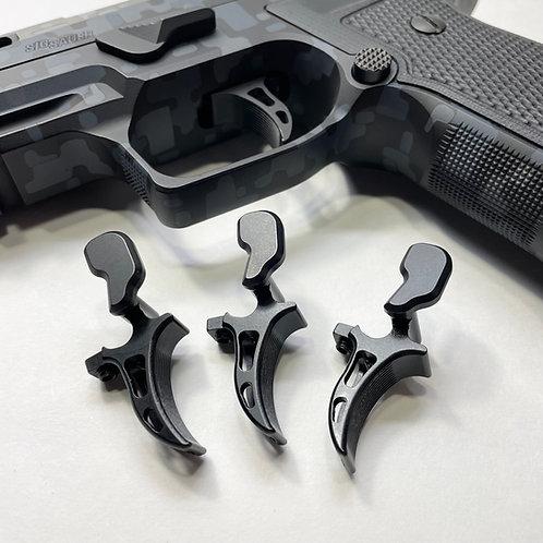 SIG Sauer P320 / X5 / X5 Legion M17/M18 Dual Adjustable SLIGHTLY CURVED Trigger