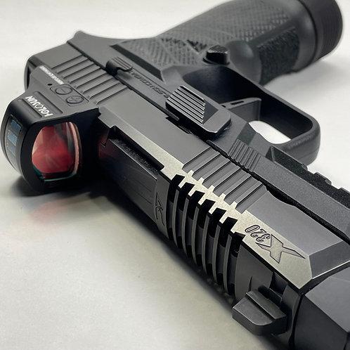 Armory Craft P320 Compact Skeleton Slide with Optics Cut - Black Nitride Finish