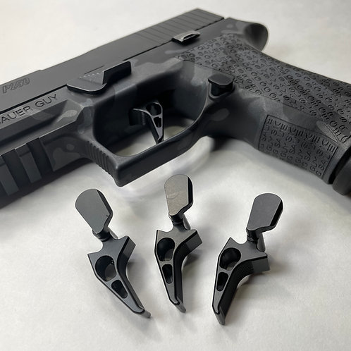 Sig Sauer P250 Adjustable Flat Trigger by Armory Craft