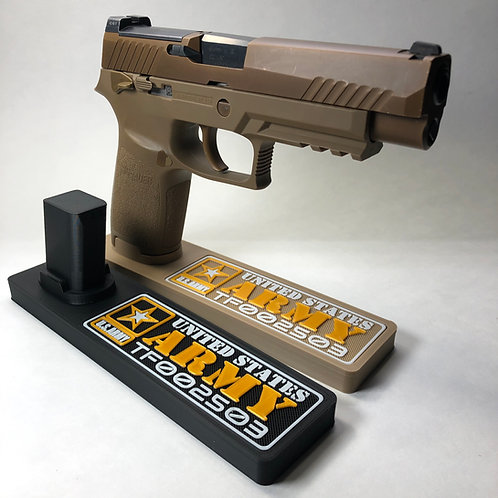 M17/M18 Serial Number Only Pistol Stand