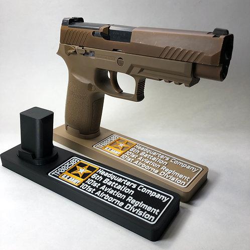 M17/M18 Deployment Information / Serial Number Pistol Stand