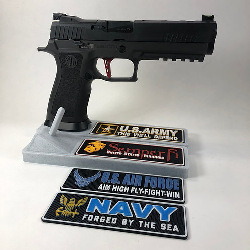 Armed Forces Pistol Stands