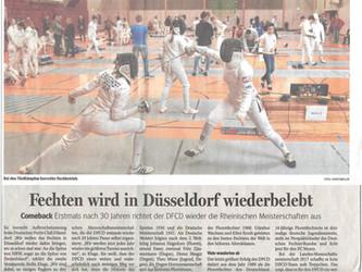 Der DFCD in der Düsseldorfer Presse