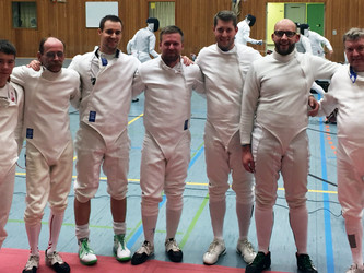 Erfolg beim Deutschlandpokal Herren Degen (1. Runde)