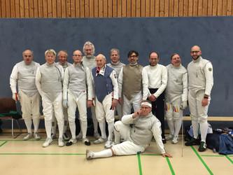 Erfolgreiche Senioren Landesmeisterschaften für den DFCD - Michael Bederow mit Gold und Frank Kluge