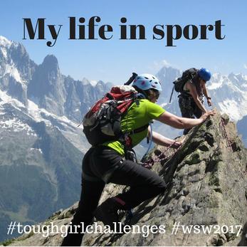 My life in sport - Women in Sport week 2017 #wsw2017