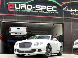 Bentley Continental GT Scheduled Maintenance