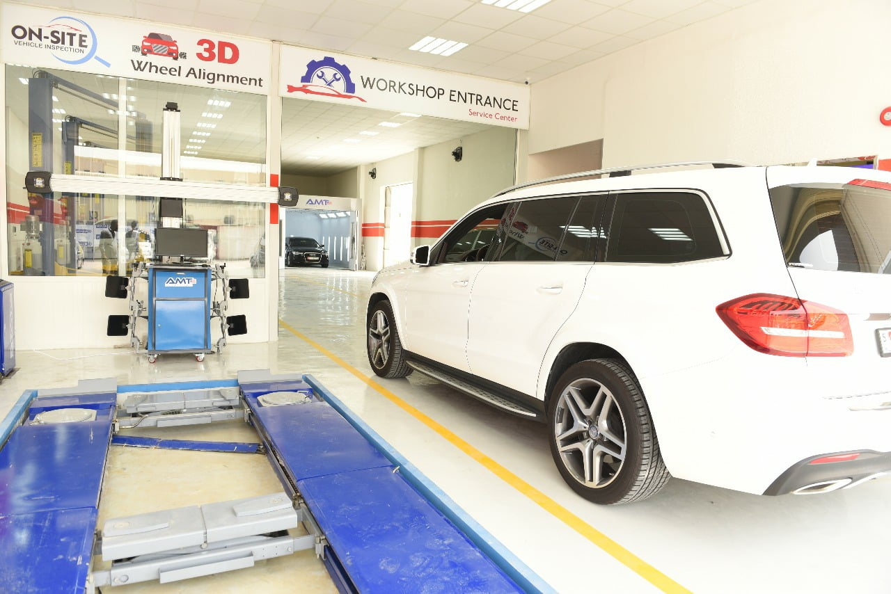 Mercedes workshop service