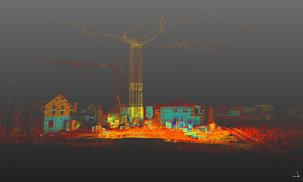 3D-Laserscanning Punktwolke