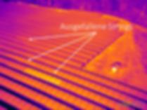 PV Solar Strings Thermografie