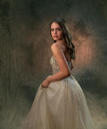 Glamour photo dress
